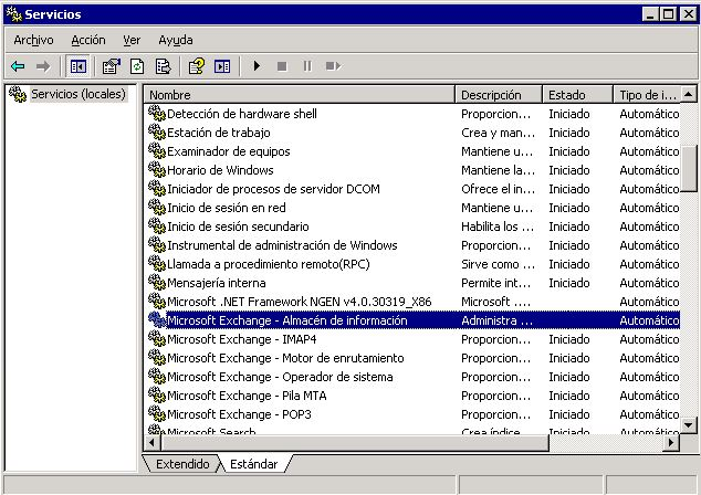 Desfragmentar base de dades exchange 2003_3